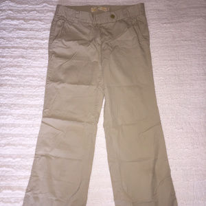 J. Crew Chino Classic Twill City Fit Cotton Khaki